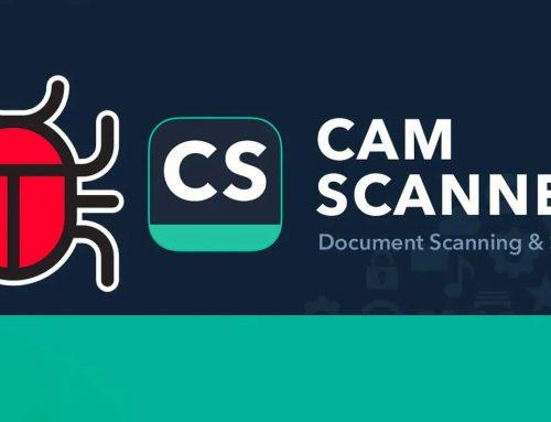 CamScanner fue Eliminada de Google Play por incluir software malicioso (malware)
