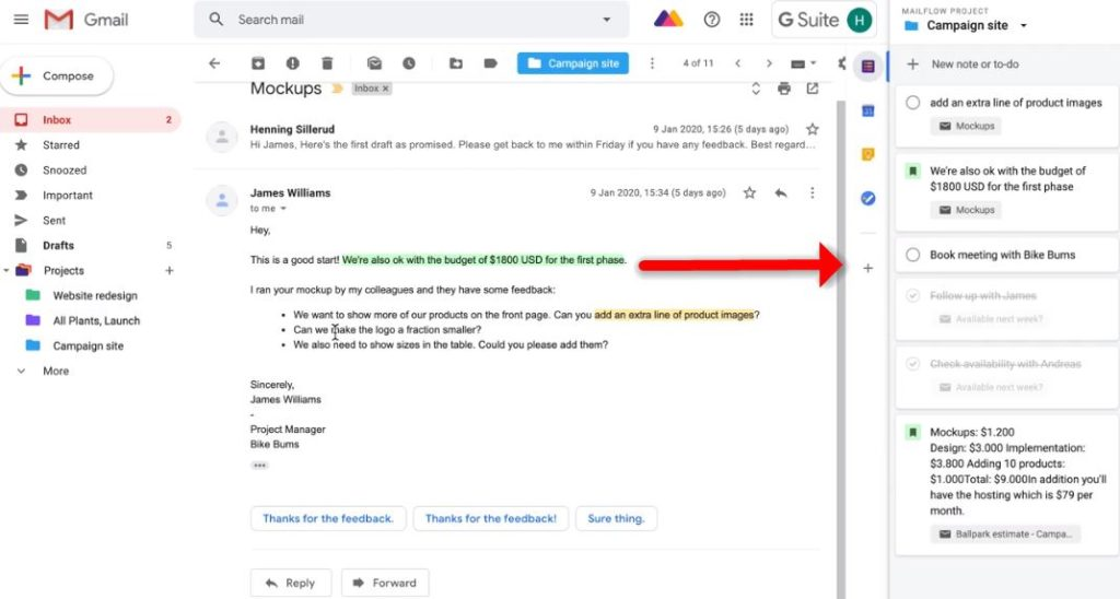 MailFlow en Chrome, extensión de Gmail para aumentar tu productividad megapyme
